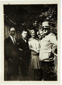 Firenze, 4 Ottobre 1929, nozze di Corso e Anna, qui tra i testimoni Mario de Bernardi e il Generale Manara
