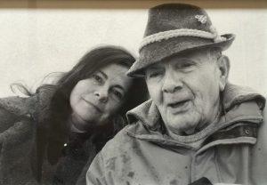 Piero con la figlia Beatrice